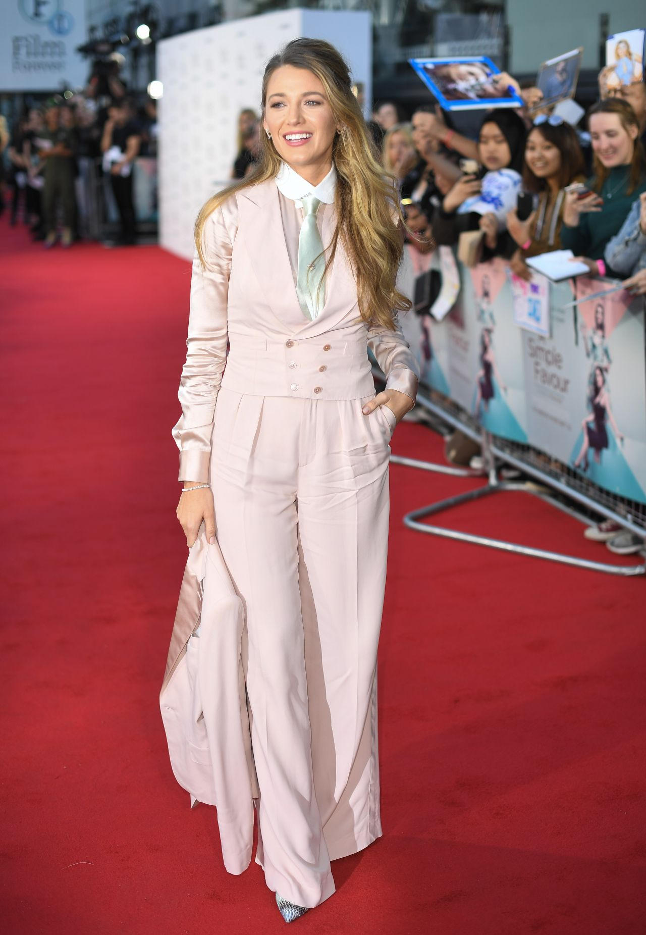 """Blake Lively - """"A Simple Favour"""" Premiere in London"""
