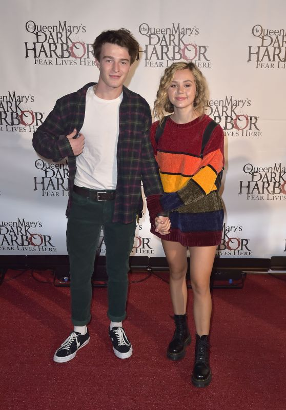 Brec Bassinger – The Queen Mary's Dark Harbor Media & VIP Night in Long Beach 09/28/2018