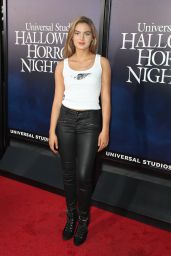 "Brighton Sharbino – Universal Studios ""Halloween Horror Nights"" in Hollywood 09/14/2018"