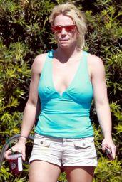 Britney Spears Street Style - LA 09/26/2018