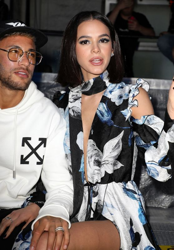 Bruna Marquezine - Off-White Show at Paris Fashion Week 09/27/2018