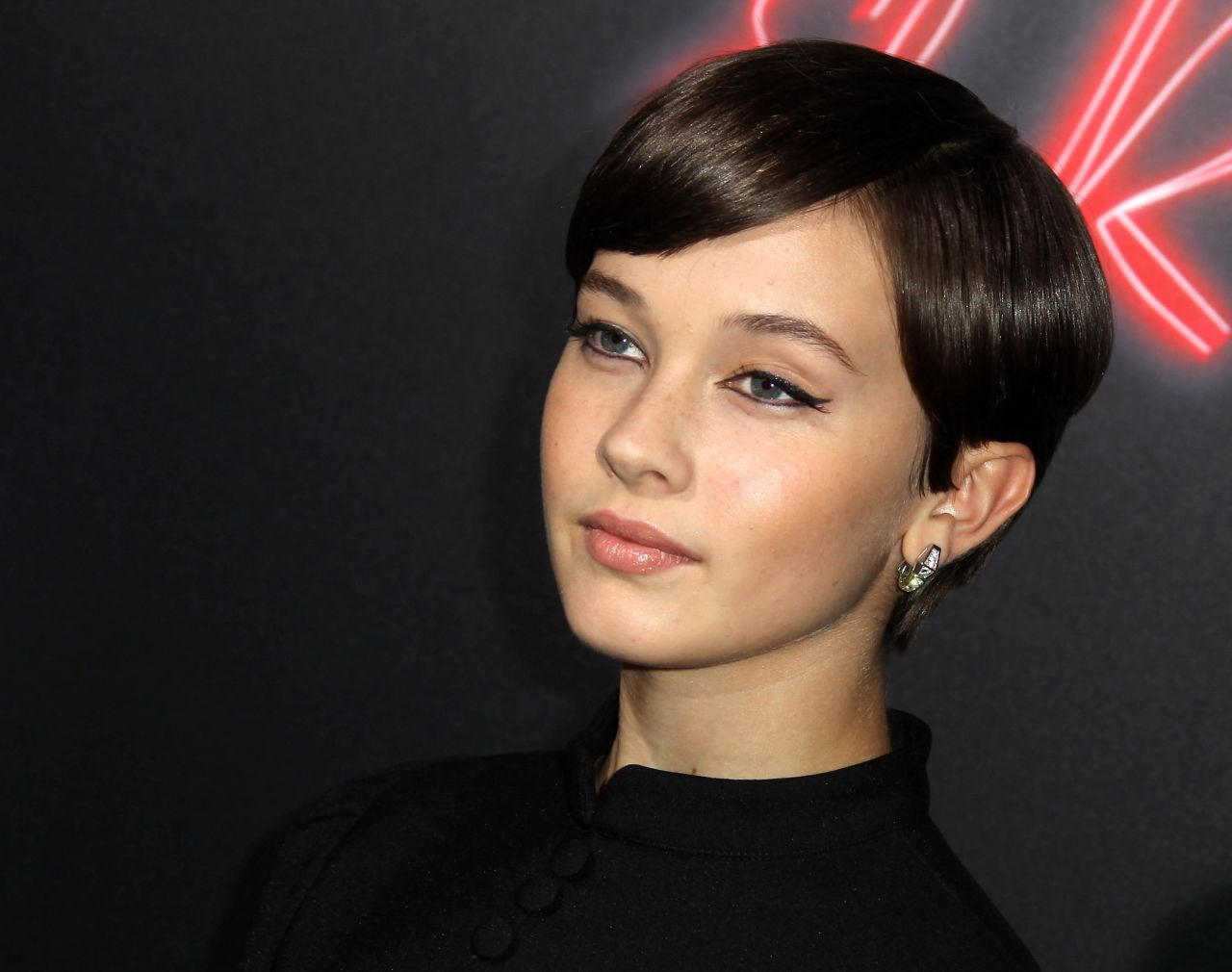 Cailee Spaeny: Bad Times at the El Royale Premiere -05