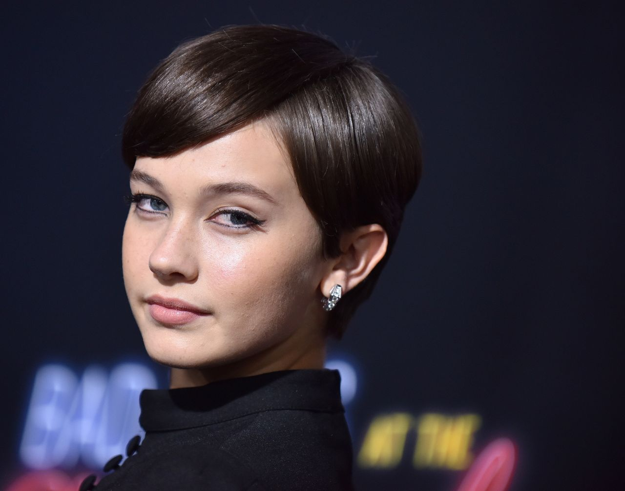 Cailee Spaeny - Bad Times at the El Royale Premiere in