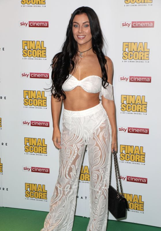 "Cally Jane Beech - ""Final Score"" Premiere in London"