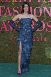 Calu Rivero – Green Carpet Fashion Awards in Milan 09/23/2018