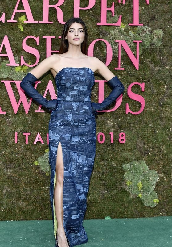 Calu Rivero – Green Carpet Fashion Awards in Milan 09/23/2018
