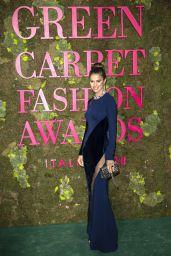 Cameron Russell – Green Carpet Fashion Awards in Milan 09/23/2018