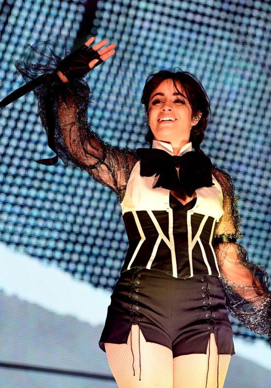 Camila Cabello Performs in Houston 09/29/2018