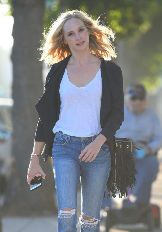 Candice King Out in Los Angeles 09/28/2018