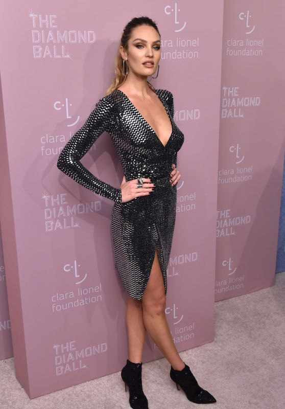 Candice Swanepoel – 4th Annual Diamond Ball in NYC