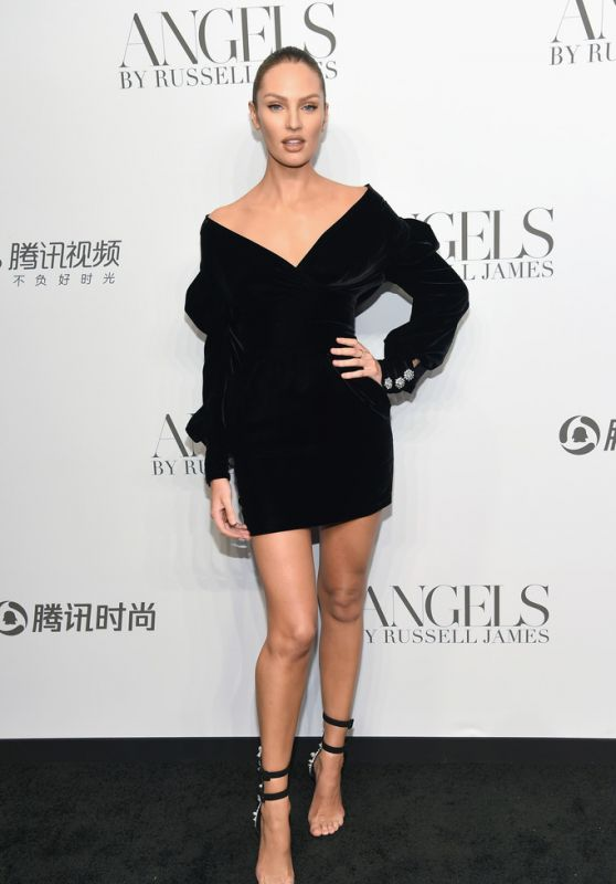 """Candice Swanepoel – """"ANGELS"""" Book Launch and Exhibit in NYC 09/06/2018"""