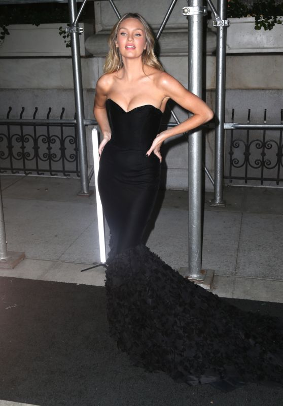 Candice Swanepoel – Outside Harper's Bazaar Icons Party in NYC 9/7/18