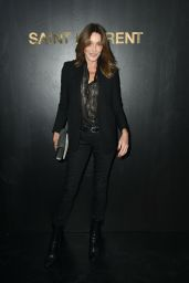 Carla Bruni – Saint Laurent Show, Paris Fashion Week 09/25/2018