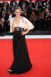 "Carolina Crescentini – 2018 Venice Film Festival Opening Ceremony and ""First Man"" Red Carpet"