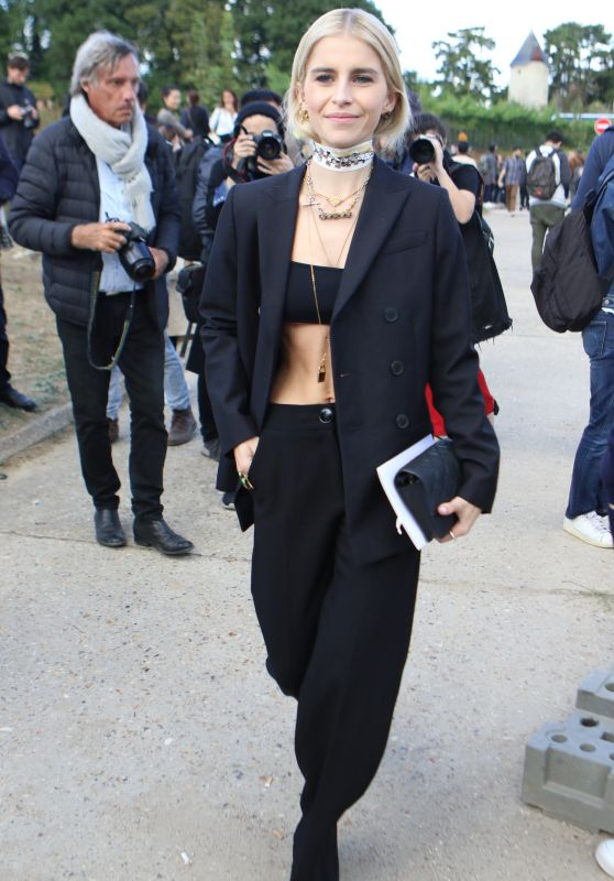 Caroline Daur - Christian Dior Show at Paris Fashion Week 09/24/2018