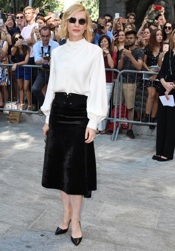 Cate Blanchett - Giorgio Armani Show, Milan Fashion Week 09/23/2018