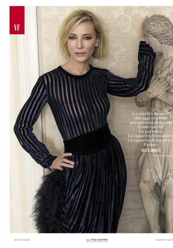 Cate Blanchett - Vanity Fair Italy 09/27/2018