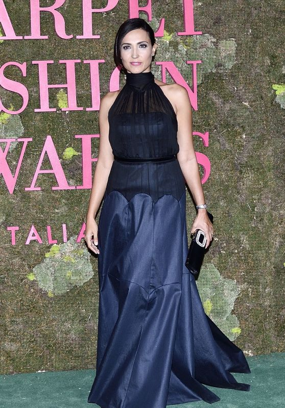 Caterina Balivo – Green Carpet Fashion Awards in Milan 09/23/2018