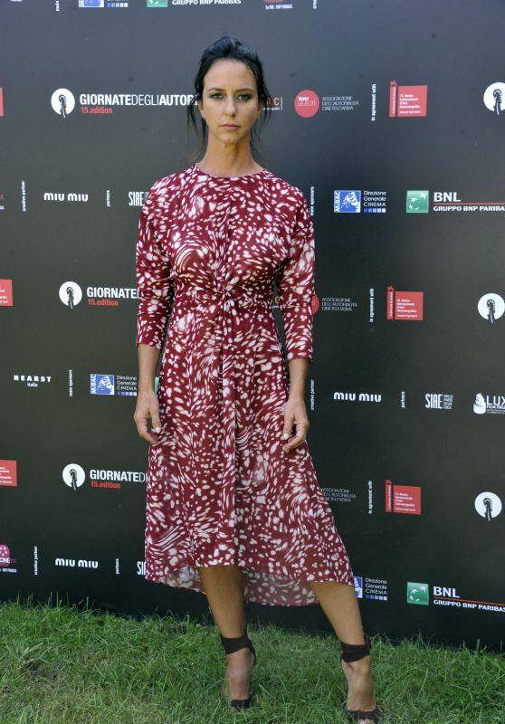 """Caterina Guzzanti – """"Illuminate"""" Photocall at Venice Film Festival"""