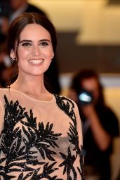 "Catherine Poulain - ""Never Look Away"" Red Carpet at Venice Film Festival"