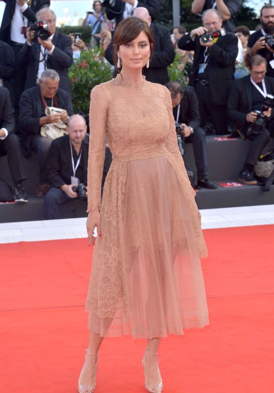 "Catrinel Marlon Menghia – ""The Sisters Brothers"" Red Carpet at Venice Film Festival"