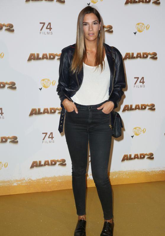 "Charlotte Gabris – ""Alad'2"" Premiere in Paris"