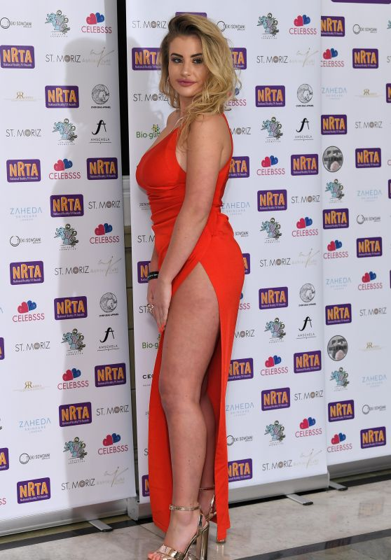 Chloe Ayling – 2018 National Reality TV Awards in London