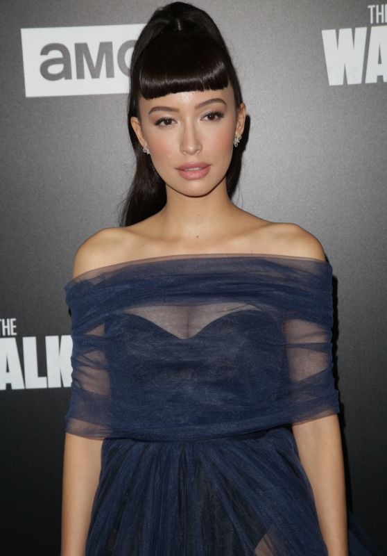 "Christian Serratos - ""Walking Dead"" Season 9 Special Screening in LA"