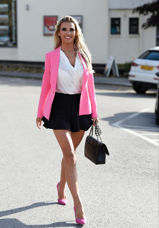 Christine McGuinness - Out in Cheshire 09/19/2018