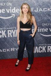 "Christine Riccio – ""Tom Clancy's Jack Ryan"" TV Show Premiere in LA"