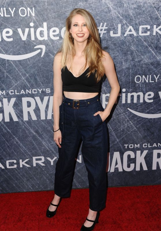 "Christine Riccio – ""Tom Clancy's Jack Ryan"" TV Show Premiere in LA"