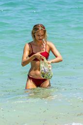 Clair Wuestenberg in Bikini on the Beach in Bali 09/02/2018