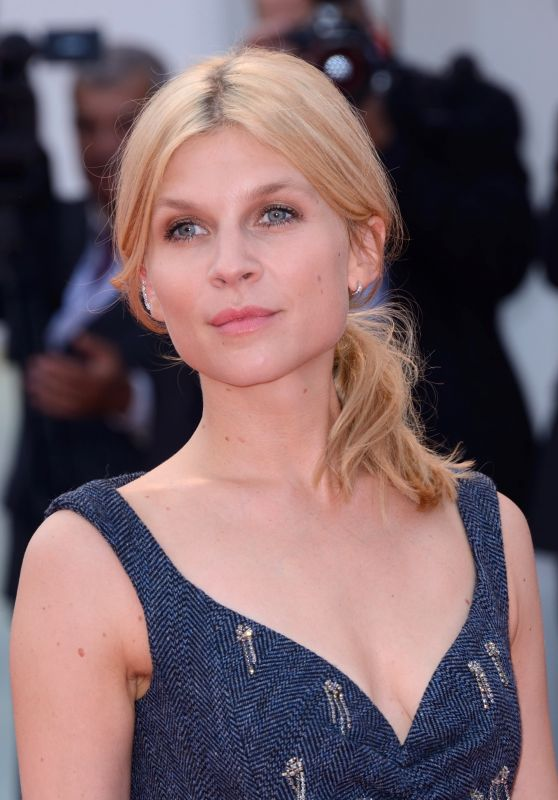 "Clemence Poesy – 2018 Venice Film Festival Opening Ceremony and ""First Man"" Red Carpet"