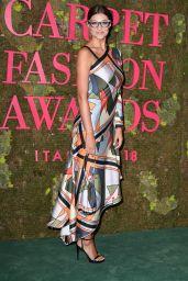Cristina Chiabotto – Green Carpet Fashion Awards in Milan 09/23/2018