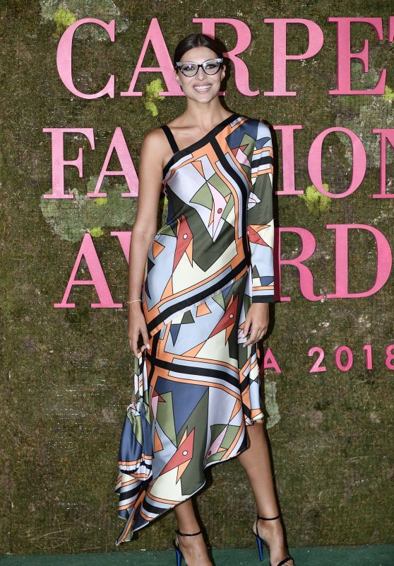 Cristina Chiabotto – Green Carpet Fashion Awards in Milan 09/23/2018