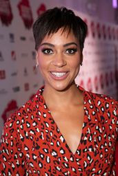 Cush Jumbo – The Stage Debut Awards 2018 in London