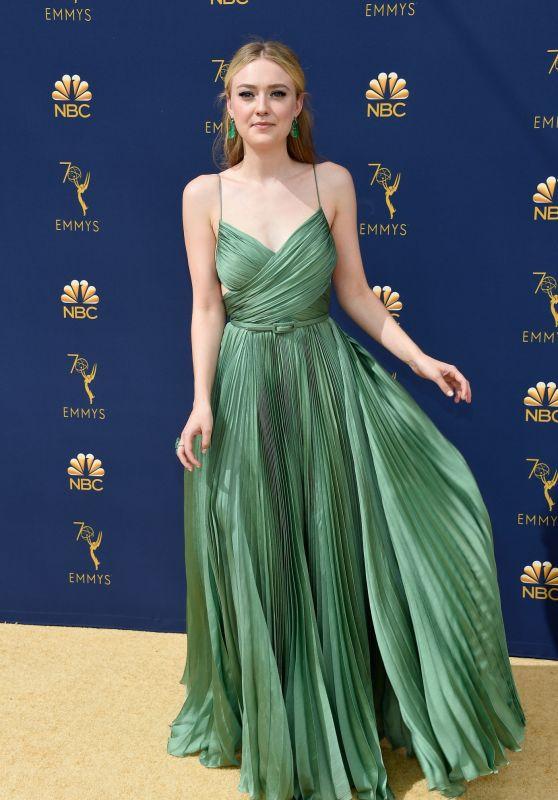 Dakota Fanning – 2018 Emmy Awards