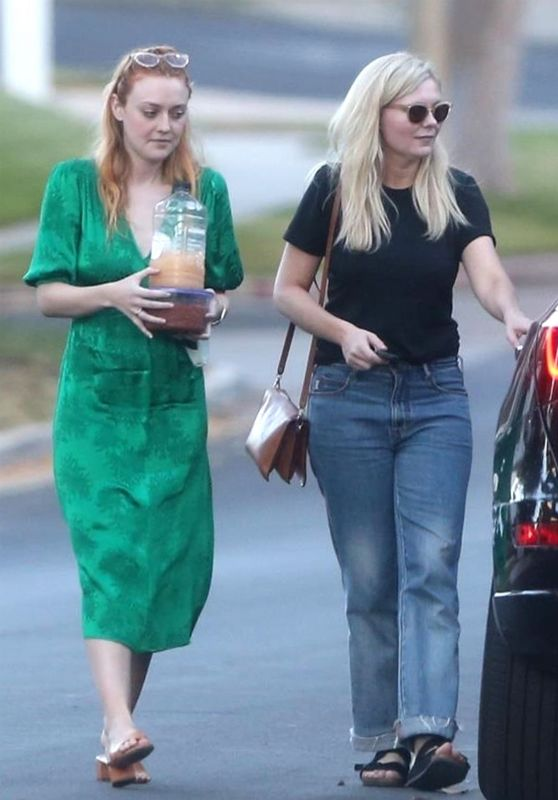 Dakota Fanning and Kirsten Dunst - Heading to a Small House Party in Los Angeles 09/19/2018