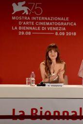 """Dakota Johnson - """"Suspiria"""" Press Conference at Venice Film Festival"""