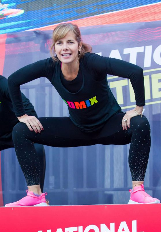 Dame Darcey Bussell - Workout on National Fitness Day in London 09/26/2018