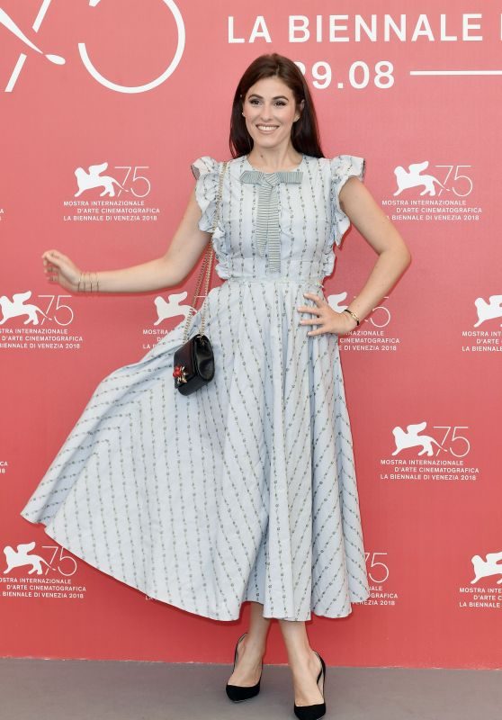 "Diana Del Bufalo - ""The Armadillo Prophecy"" Photocall at Venice Film Festival"