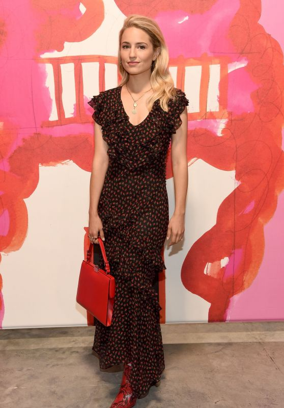 Dianna Agron – Michael Kors Collection Spring 2019 Fashion Show in NYC 09/12/2018