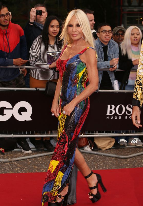Donatella Versace – GQ Men of the Year Awards 2018 in London