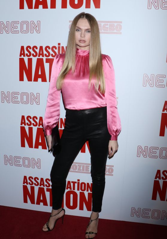 "Elena Matei – ""Assassination Nation"" Screening in New York"