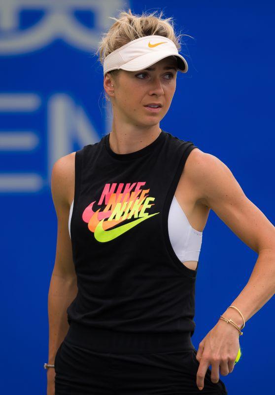 Elina Svitolina – Practices at the 2018 Wuhan Open WTA Tennis 09/22/2018