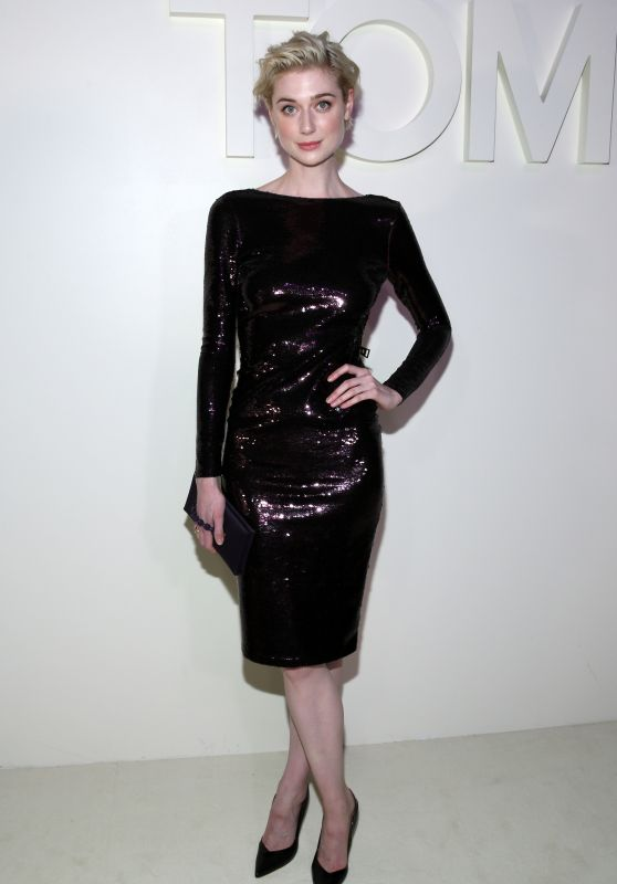 Elizabeth Debicki – Tom Ford Fashion Show in NYC 09/05/2018