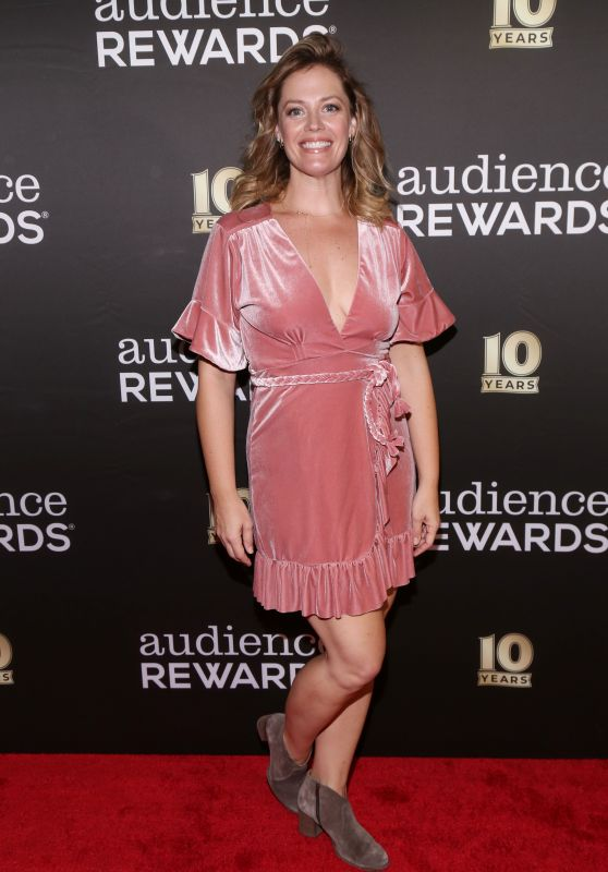 Elizabeth Stanley – 10th Anniversary of Audience Rewards in NY