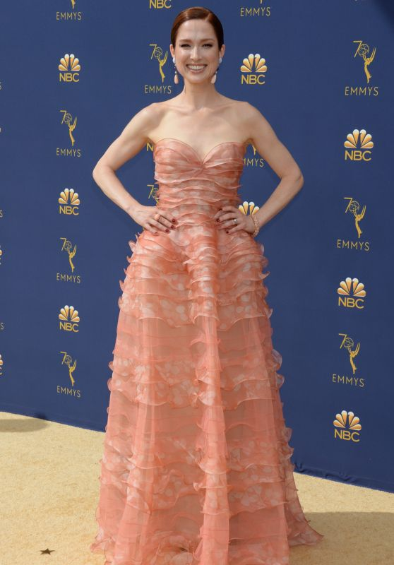 Image result for ellie kemper emmys 2018