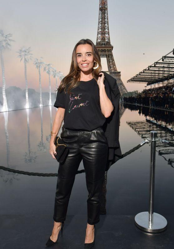 Elodie Bouchez - Saint Laurent Show, Paris Fashion Week 09/25/2018