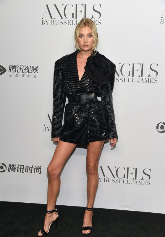 """Elsa Hosk – """"ANGELS"""" Book Launch and Exhibit in NYC 09/06/2018"""